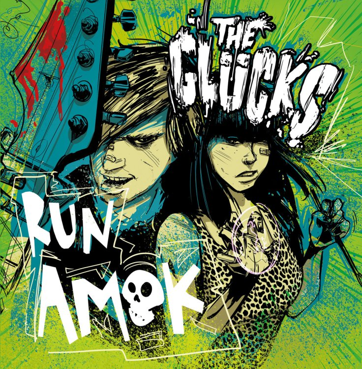 The Glucks Run Amok cover